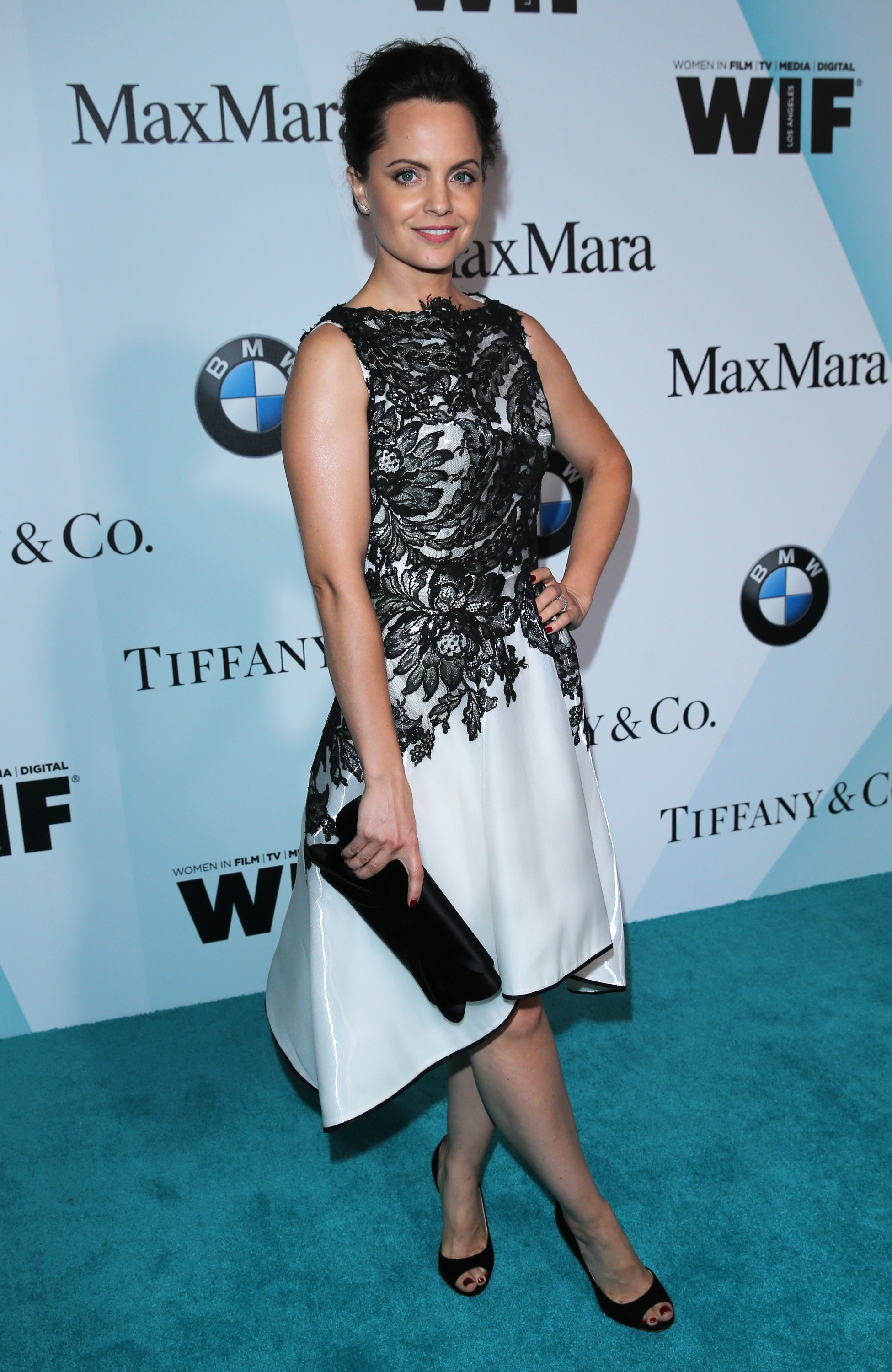 CENTURY CITY, CA - JUNE 16:  Actress Mena Suvari attends Women In Film 2015 Crystal + Lucy Awards Presented by Max Mara, BMW of North America, and Tiffany & Co. at the Hyatt Regency Century Plaza on June 16, 2015 in Century City, California.  (Photo by Mark Davis/Getty Images for Women in Film)