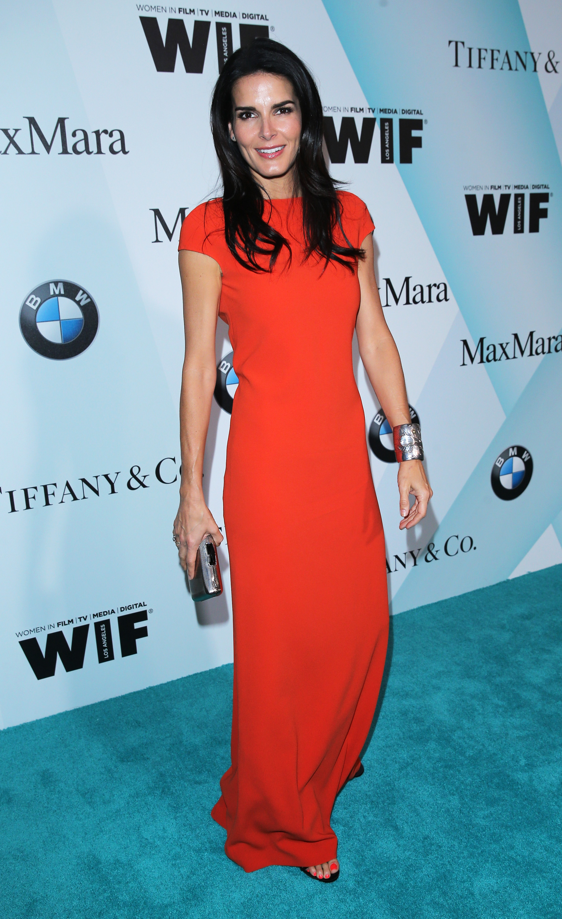 CENTURY CITY, CA - JUNE 16: Actress Angie Harmon attends Women In Film 2015 Crystal + Lucy Awards Presented by Max Mara, BMW of North America, and Tiffany & Co. at the Hyatt Regency Century Plaza on June 16, 2015 in Century City, California.  (Photo by Mark Davis/Getty Images for Women in Film)