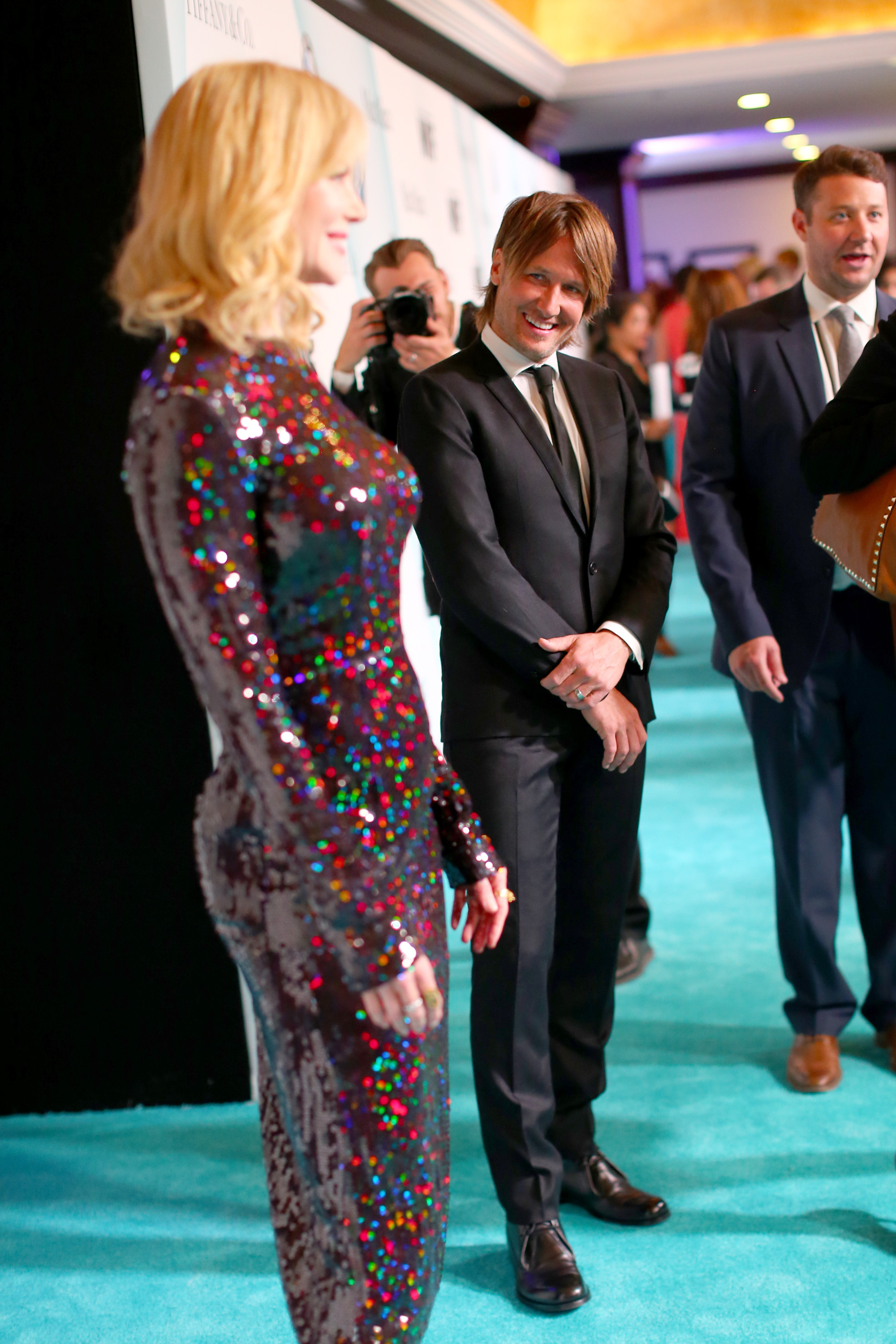 CENTURY CITY, CA - JUNE 16: Honoree Nicole Kidman (L) and recording artist Keith Urban attend the Women In Film 2015 Crystal + Lucy Awards Presented by Max Mara, BMW of North America, and Tiffany & Co. at the Hyatt Regency Century Plaza on June 16, 2015 in Century City, California.  (Photo by Mark Davis/Getty Images for Women in Film)