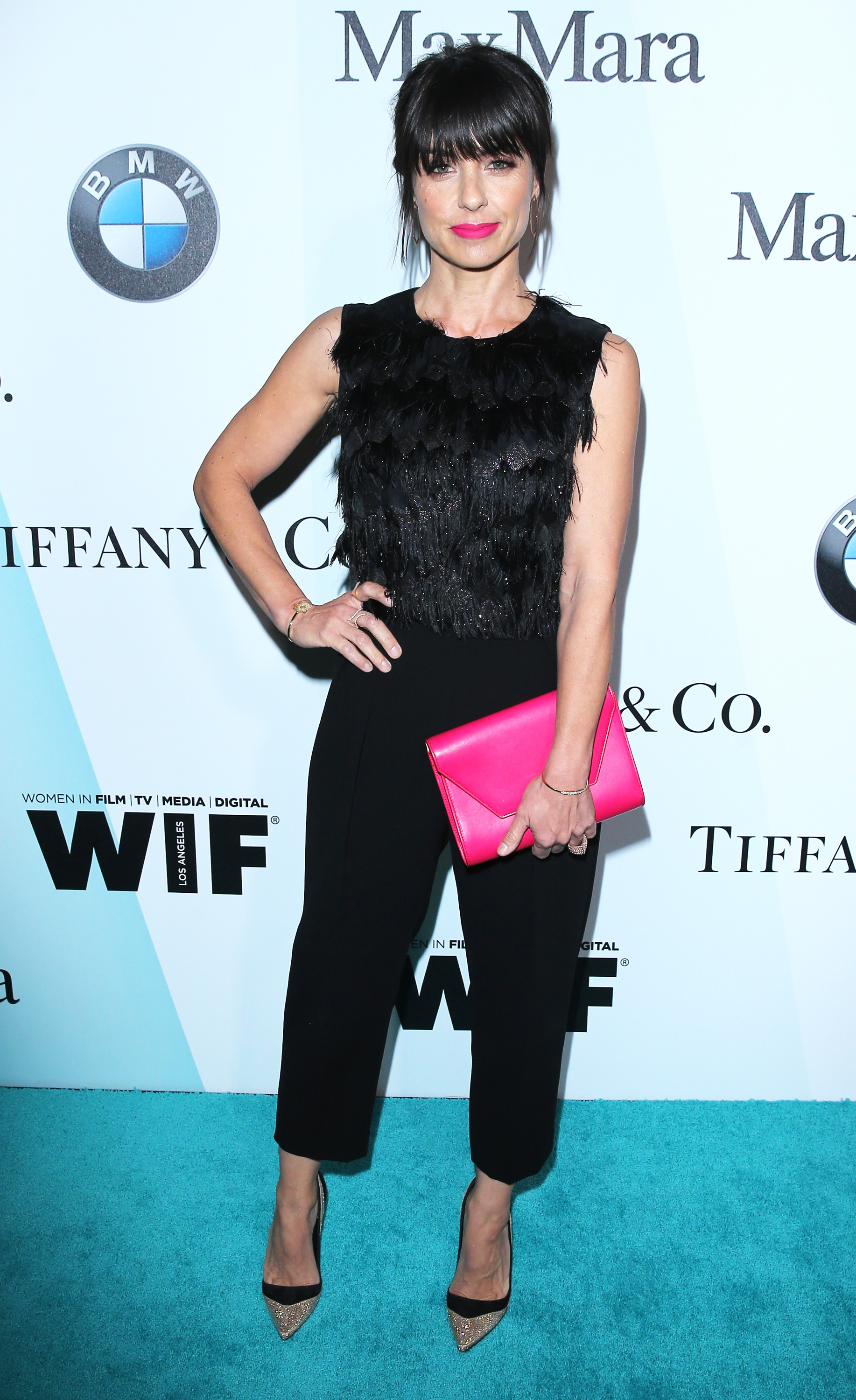 CENTURY CITY, CA - JUNE 16:  Actress Constance Zimmer attends the Women In Film 2015 Crystal + Lucy Awards Presented by Max Mara, BMW of North America, and Tiffany & Co. at the Hyatt Regency Century Plaza on June 16, 2015 in Century City, California.  (Photo by Mark Davis/Getty Images for Women in Film)