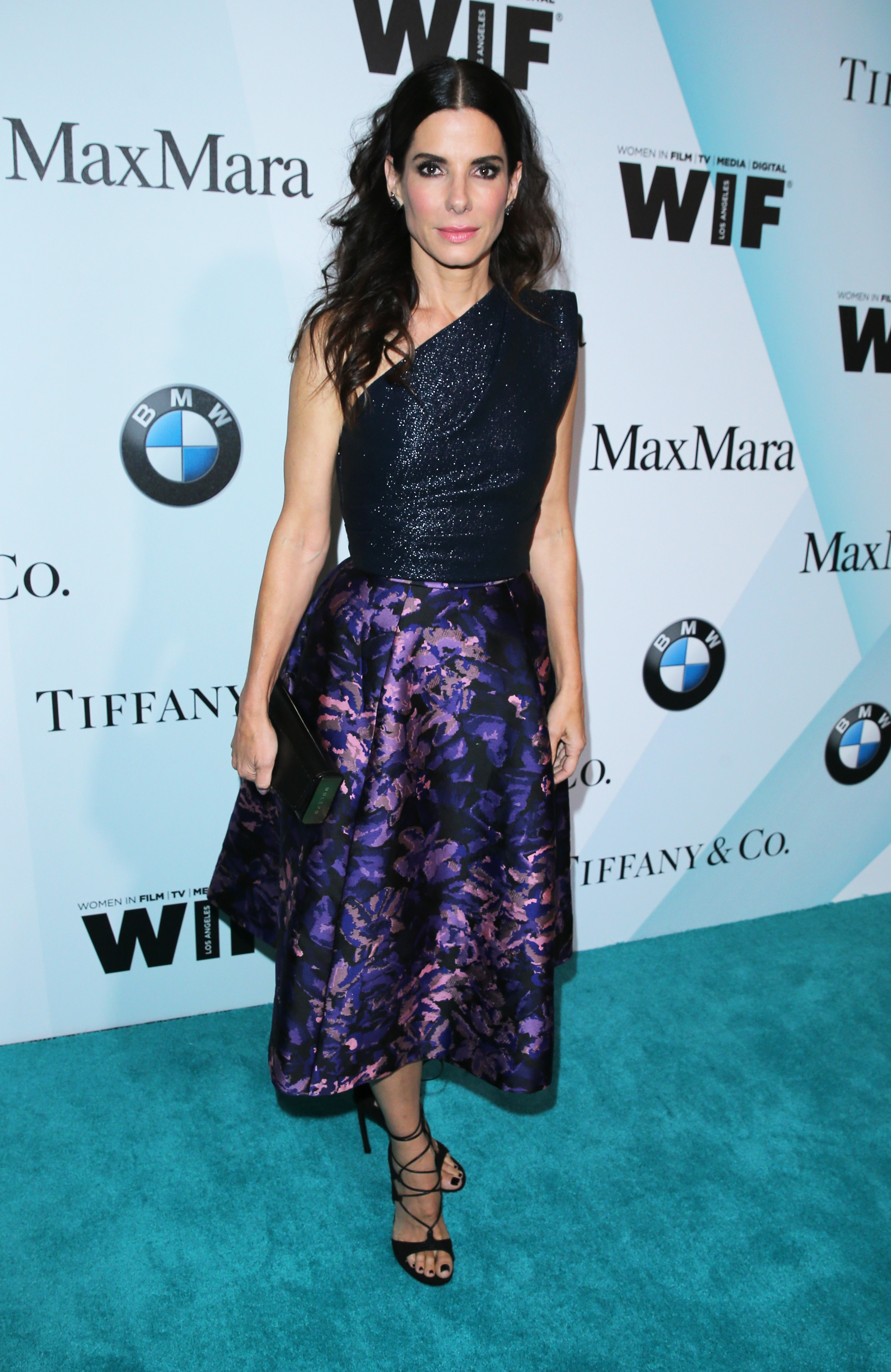 CENTURY CITY, CA - JUNE 16:  Actress Sandra Bullock attends the Women In Film 2015 Crystal + Lucy Awards Presented by Max Mara, BMW of North America, and Tiffany & Co. at the Hyatt Regency Century Plaza on June 16, 2015 in Century City, California.  (Photo by Mark Davis/Getty Images for Women in Film)