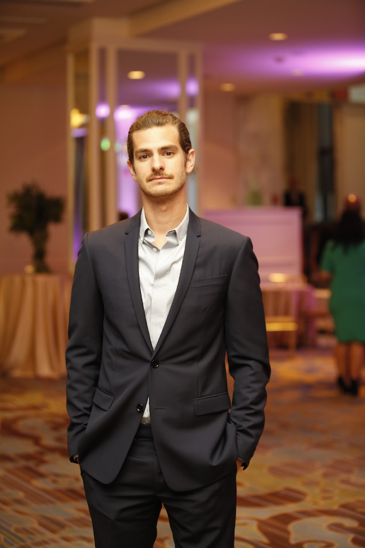 Beverly Hills, CA. August 13, 2015 Hollywood Foreign Press Association presents annual Grants Dinner Thursday night from the Beverly Wilshire Hotel.  The HFPA will present more than $2 million in donations to non-profit entertainment-related organizations and scholarship programs.  Pictured: Andrew Garfield.