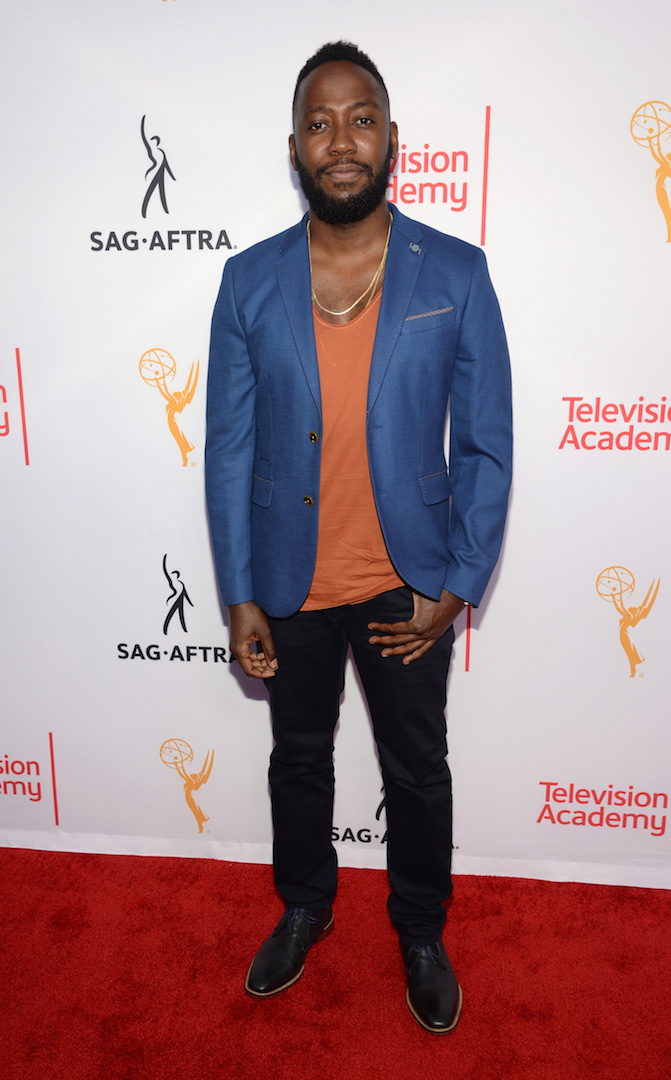 Lamorne Morris seen at the Television Academy's 67th Emmy Awards Dynamic and Diverse Nominee Reception at the Montage Beverly Hills on Thursday, Aug. 27, 2015, in Beverly Hills, Calif. (Photo by Phil Mccarten/Invision for the Television Academy/AP Images)