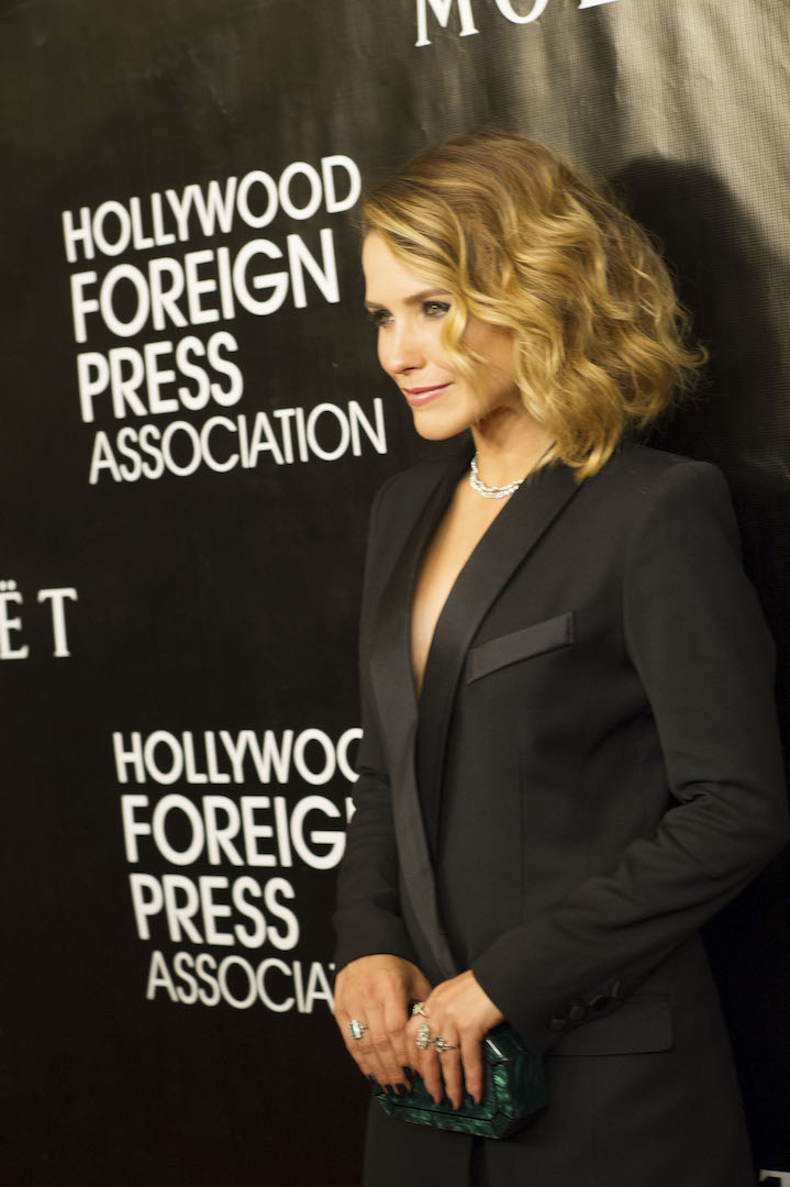 Beverly Hills, CA. August 13, 2015 Hollywood Foreign Press Association presents annual Grants Dinner Thursday night from the Beverly Wilshire Hotel.  The HFPA will present more than $2 million in donations to non-profit entertainment-related organizations and scholarship programs.  Pictured: Sophia Bush arrives on the red carpet.