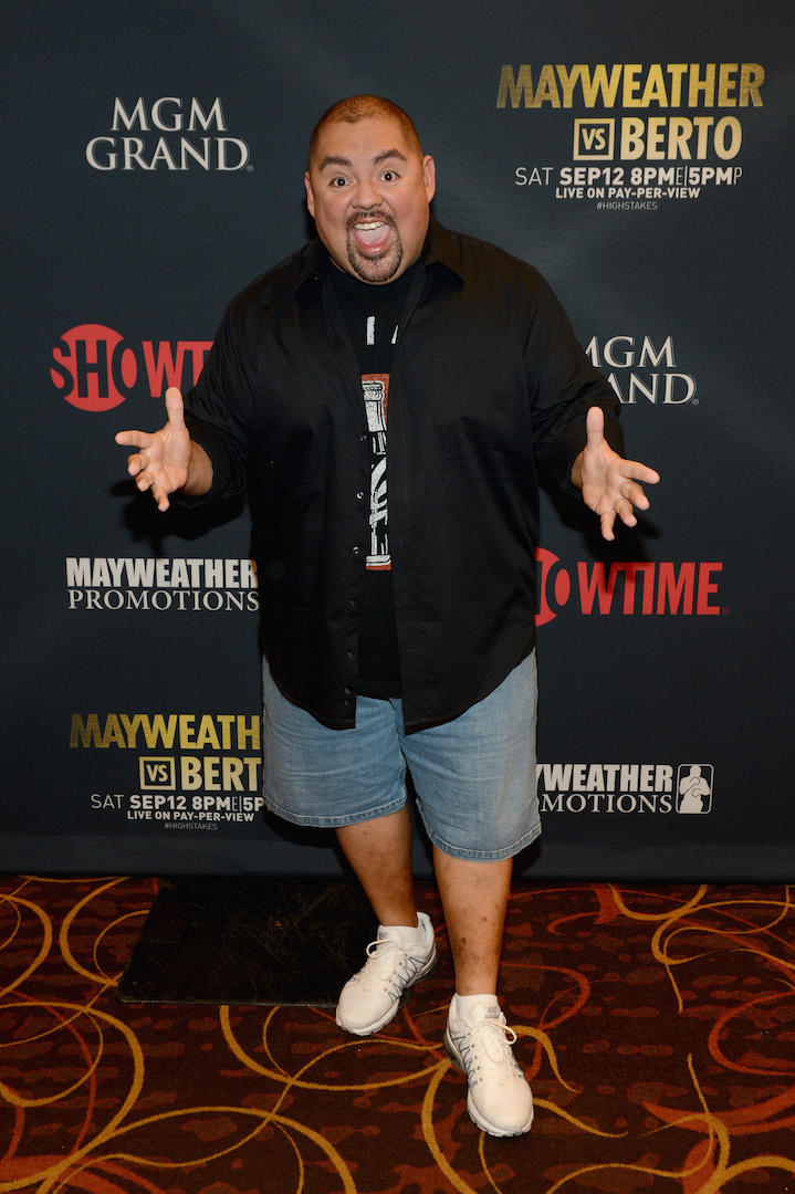 LAS VEGAS, NV - SEPTEMBER 12:  Comedian Gabriel Iglesias attends the VIP Pre-Fight Party for 'High Stakes: Mayweather v. Berto' presented by Showtime at the MGM Grand Garden Arena on September 12, 2015 in Las Vegas, Nevada.  (Photo by Denise Truscello/Getty Images for Showtime) *** Local Caption *** Gabriel Iglesias