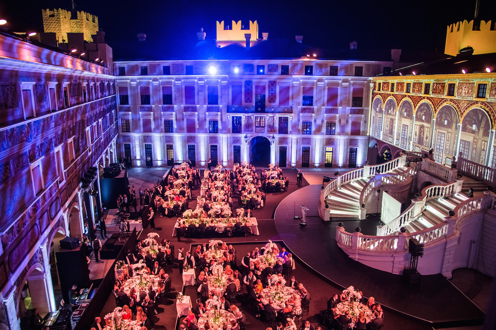 MONTE-CARLO, MONACO - SEPTEMBER 05:  General view of atmoshere during the 2015 Princess Grace Awards Gala With Presenting Sponsor Christian Dior Couture at Monaco Palace on September 5, 2015 in Monte-Carlo, Monaco.  (Photo by Pascal Le Segretain/Getty Images for Princess Grace Foundation-USA)