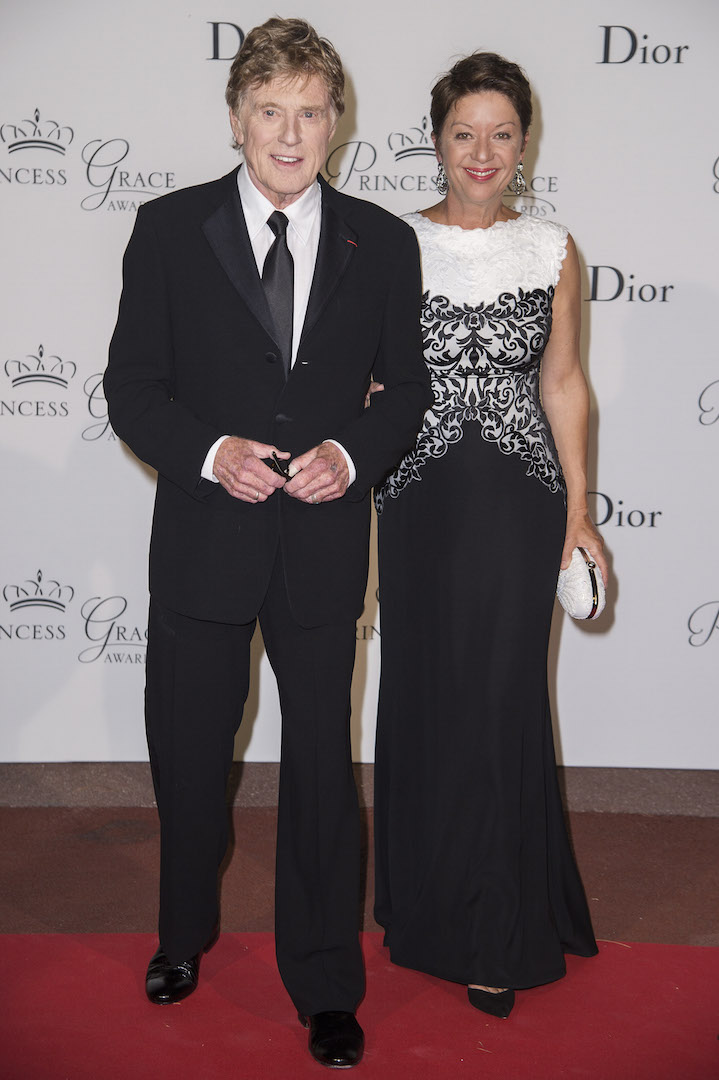 MONTE-CARLO, MONACO - SEPTEMBER 05:  2015 Princess Grace Awards Gala Honorees Robert Redford and Sibylle Szaggars Redford attend the 2015 Princess Grace Awards Gala With Presenting Sponsor Christian Dior Couture at Monaco Palace on September 5, 2015 in Monte-Carlo, Monaco.  (Photo by Pascal Le Segretain/Getty Images for Princess Grace Foundation-USA)