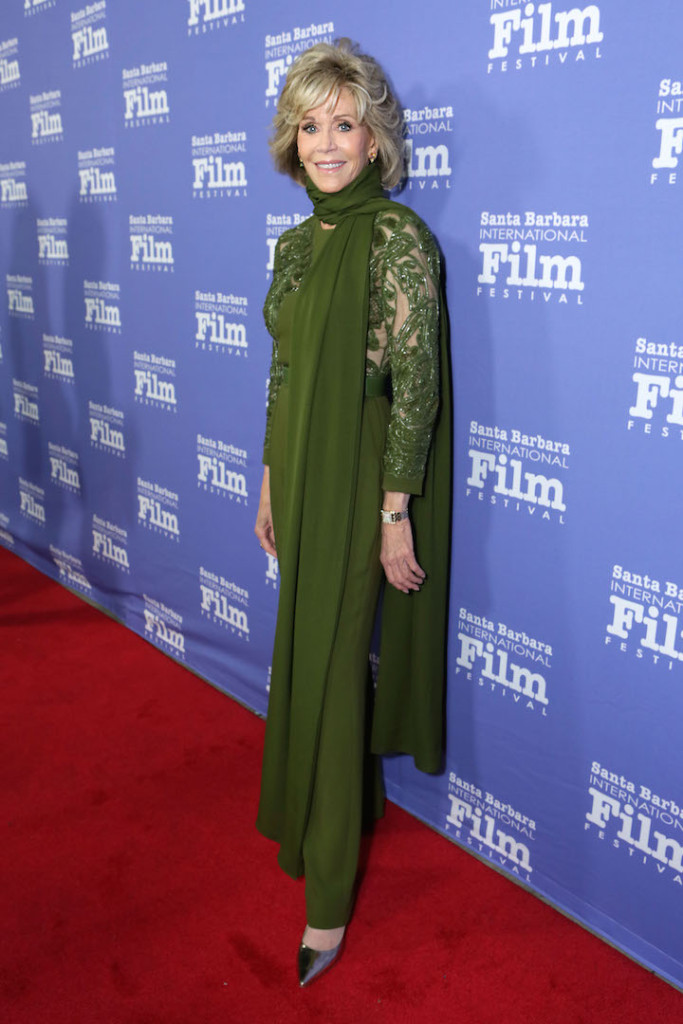 SANTA BARBARA, CA - OCTOBER 03: Jane Fonda attends Santa Barbara International Film Festival's 10th Annual Kirk Douglas Awards Honoring Jane Fonda at Bacara Resort and Spa on October 3, 2015 in Santa Barbara, California. (Photo by Rebecca Sapp/Getty Images for Santa Barbara International Film Festival)