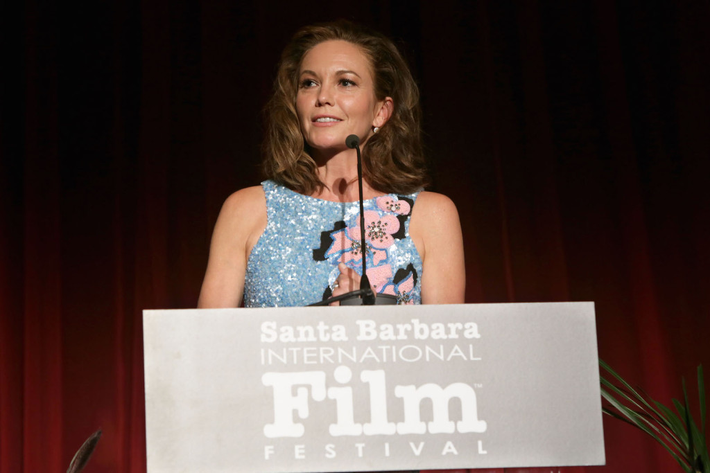 SANTA BARBARA, CA - OCTOBER 03: Diane Lane speaks onstage at the Santa Barbara International Film Festival's 10th Annual Kirk Douglas Awards Honoring Jane Fonda at Bacara Resort and Spa on October 3, 2015 in Santa Barbara, California. (Photo by Rebecca Sapp/Getty Images for Santa Barbara International Film Festival)