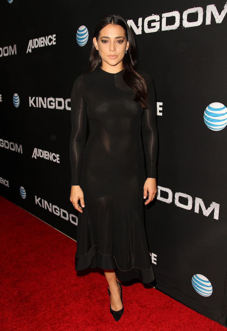 WEST HOLLYWOOD, CA - OCTOBER 06:  Actress Natalie Martinez celebrates the season premiere of DIRECTV's KINGDOM on October 6, 2015 in West Hollywood, California.  (Photo by Rachel Murray/Getty Images for DIRECTV)