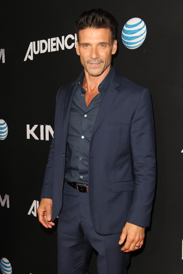 WEST HOLLYWOOD, CA - OCTOBER 06:  Actor Frank Grillo celebrates the season premiere of DIRECTV's KINGDOM on October 6, 2015 in West Hollywood, California.  (Photo by Rachel Murray/Getty Images for DIRECTV)