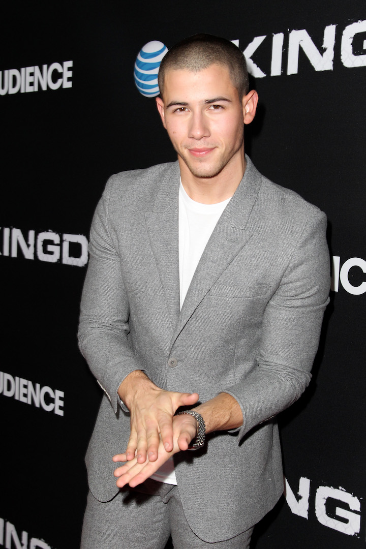 WEST HOLLYWOOD, CA - OCTOBER 06:  Singer/actor Nick Jonas celebrates the season premiere of DIRECTV's KINGDOM on October 6, 2015 in West Hollywood, California.  (Photo by Rachel Murray/Getty Images for DIRECTV)