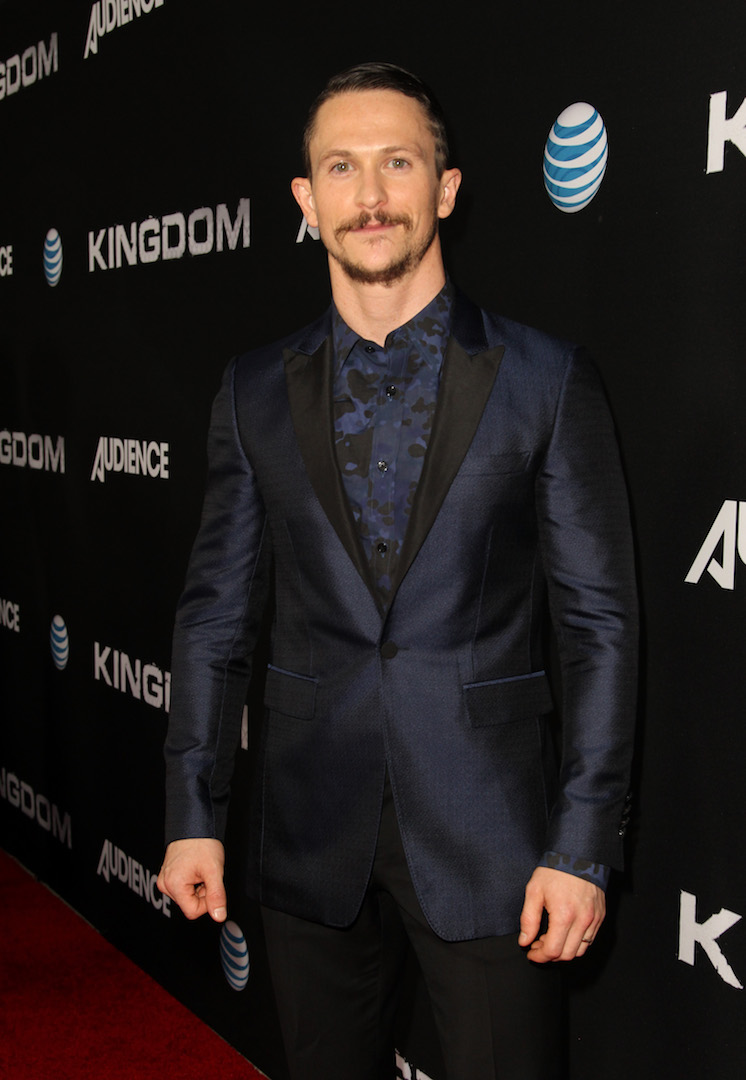 WEST HOLLYWOOD, CA - OCTOBER 06:  Actor Jonathan Tucker celebrates the season premiere of DIRECTV's KINGDOM on October 6, 2015 in West Hollywood, California.  (Photo by Rachel Murray/Getty Images for DIRECTV)