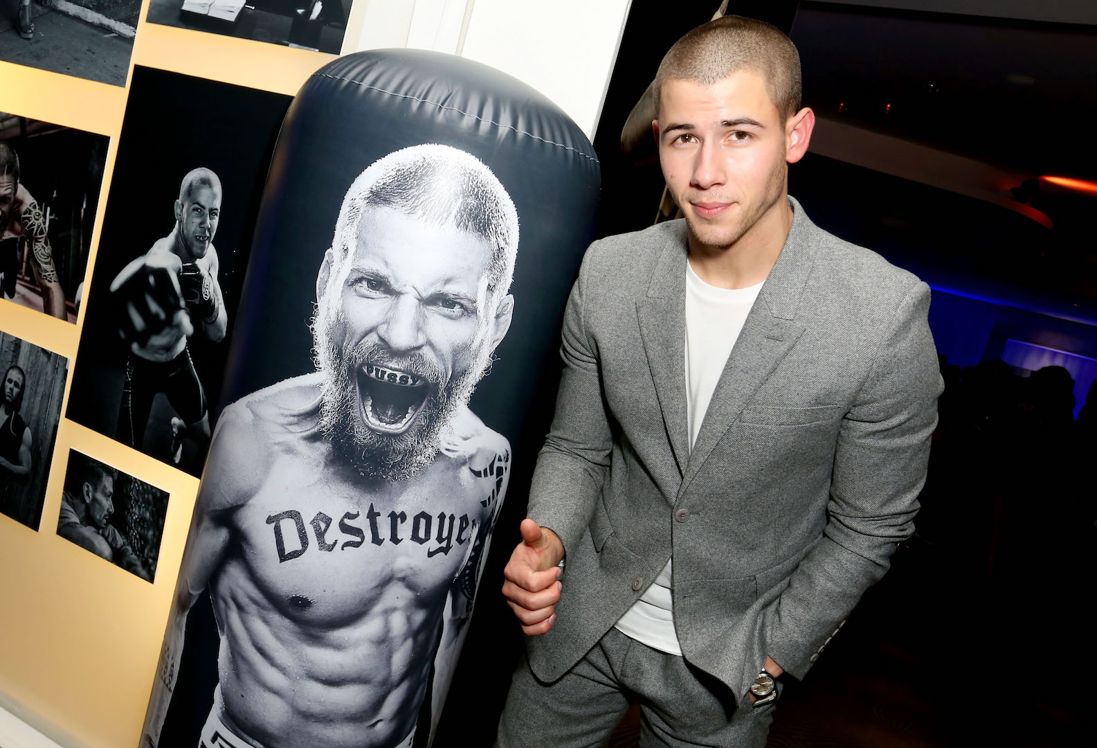 WEST HOLLYWOOD, CA - OCTOBER 06:  Singer/actor Nick Jonas celebrates the season 2 premiere of DIRECTV's KINGDOM on October 6, 2015 in West Hollywood, California.  (Photo by Rachel Murray/Getty Images for DIRECTV)