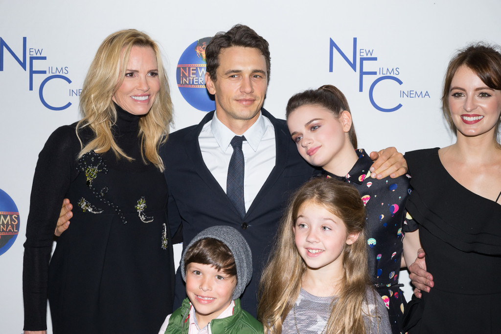 """Janet Jones, James Franco, Joey King, Ahna O'Reilly, Jacob Skirtech & Stella Allen at the Hollywood Premiere of """"The Sound and the Fury."""""""
