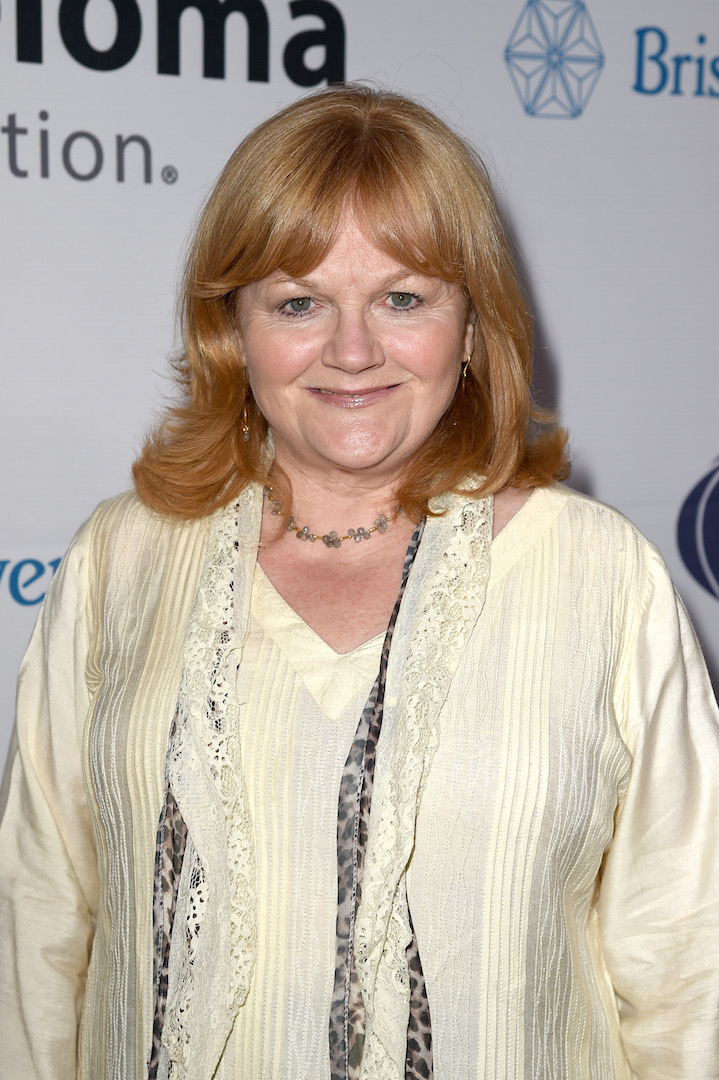 LOS ANGELES, CA - OCTOBER 10:  Actress Lesley Nicol attends the 9th Annual Comedy Celebration, presented by the International Myeloma Foundation, at The Wilshire Ebell Theatre on October 10, 2015 in Los Angeles, California.  (Photo by Kevin Winter/Getty Images for International Myeloma Foundation)