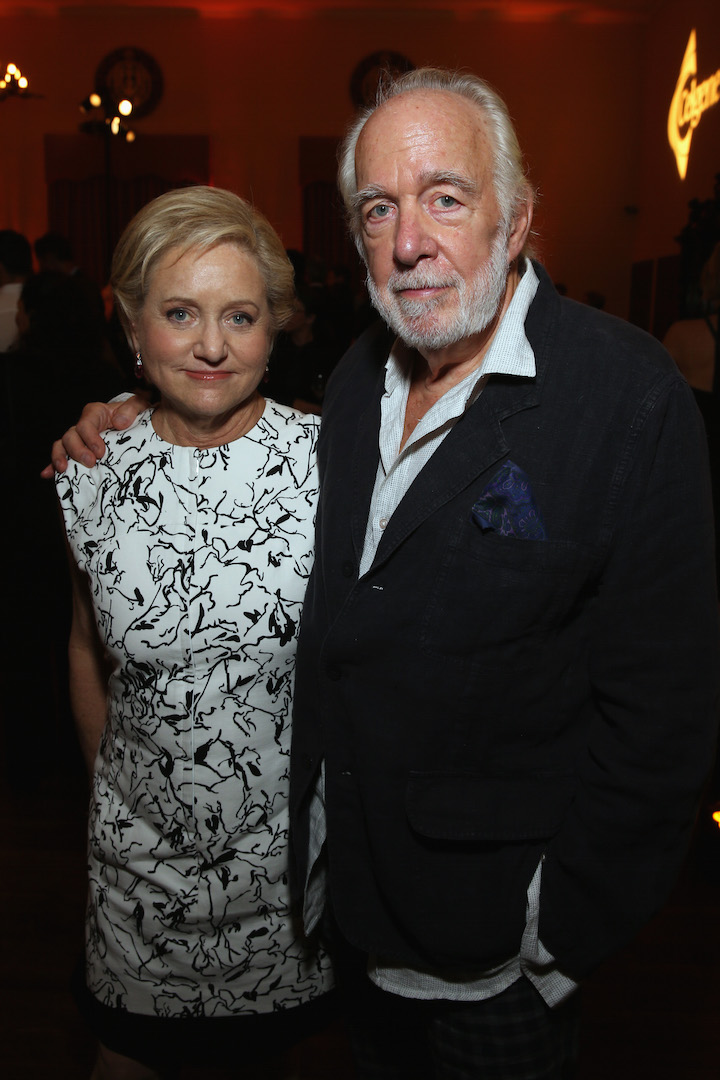 LOS ANGELES, CA - OCTOBER 10:  Lorraine Boyle and actor Howard Hesseman pose backstage during the 9th Annual Comedy Celebration, presented by the International Myeloma Foundation, at The Wilshire Ebell Theatre on October 10, 2015 in Los Angeles, California.  (Photo by Jesse Grant/Getty Images for for International Myeloma Foundation)