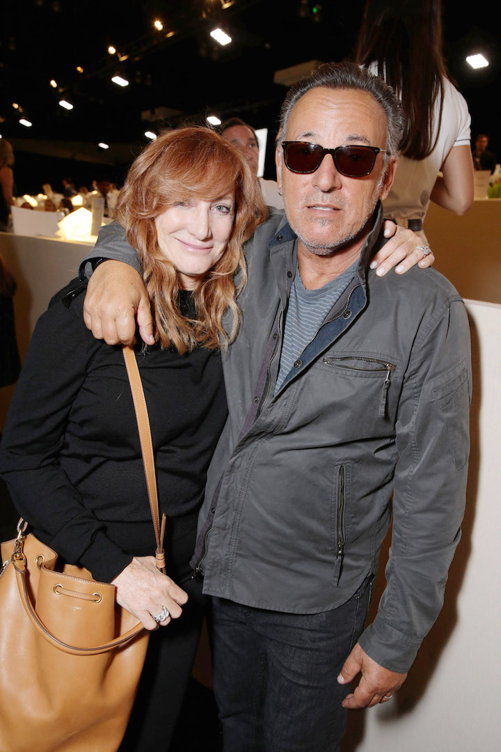 Mandatory Credit: Photo by Eric Charbonneau/REX Shutterstock (2865324ad) Patti Scialfa and Bruce Springsteen Longines Masters, Day 3, Los Angeles, America - 03 Oct 2015