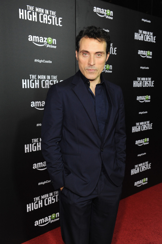 "NEW YORK, NY - NOVEMBER 02: Actor Rufus Sewell attends the New York premiere of Amazon Original's ""Man In The High Castle"" at Alice Tully Hall on November 2, 2015 in New York City. (Photo by Brad Barket/Getty Images for Amazon)"