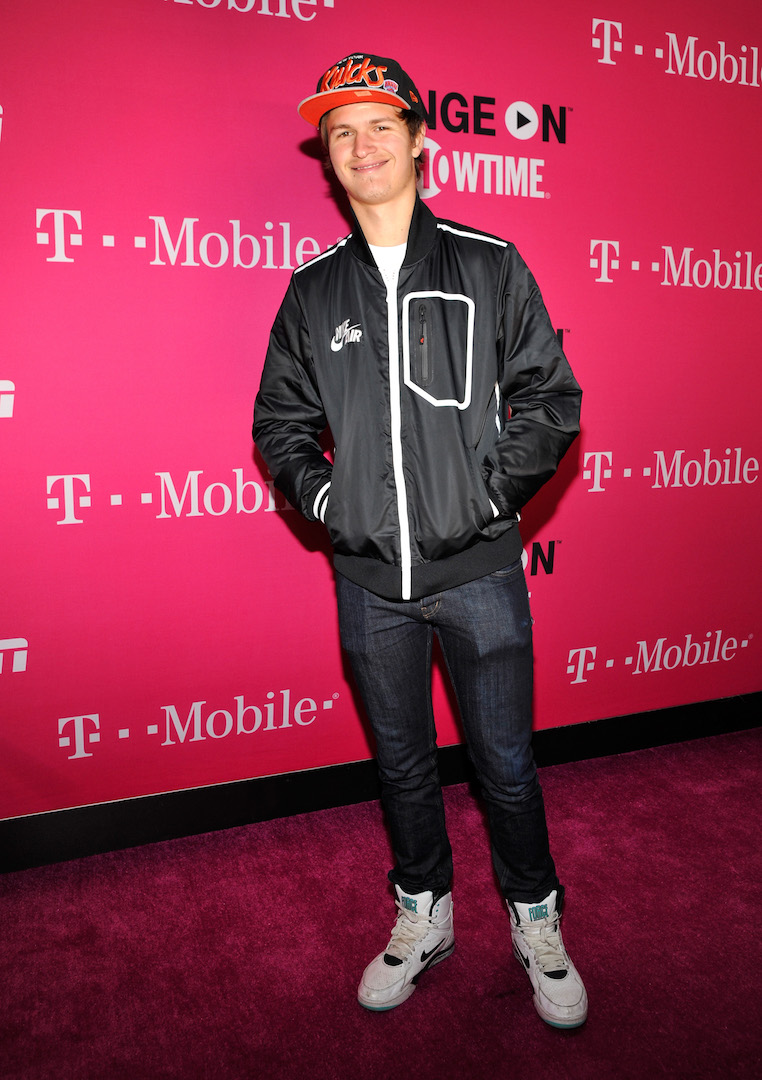 LOS ANGELES, CA - NOVEMBER 10:  Actor Ansel Elgort attends T-Mobile Un-carrier X Launch Celebration at The Shrine Auditorium on November 10, 2015 in Los Angeles, California.  (Photo by John Sciulli/Getty Images for T-Mobile)