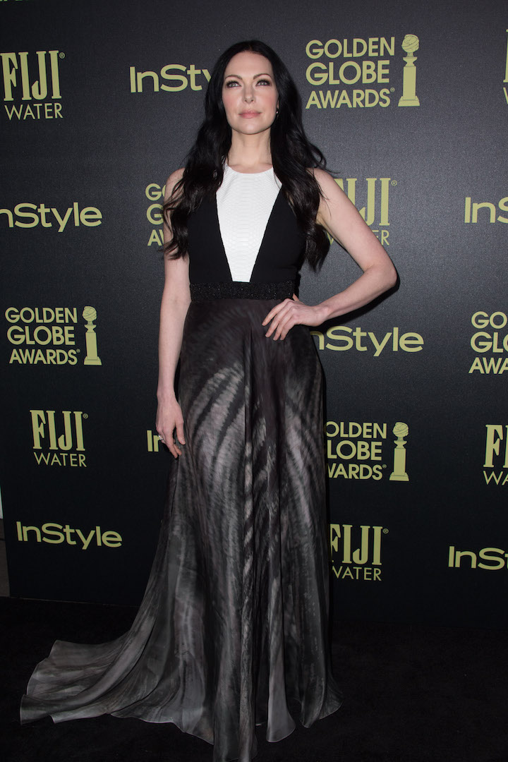 Laura Prepon attends a party for the announcement of Corinne Foxx as Miss Golden Globe 2016 for the 73rd Annual Golden Globe Awards set to air live on NBC on January 10, 2016.President Lorenzo Soria made the announcement on November 17, 2015 from Ysabel Restaurant in West Hollywood.