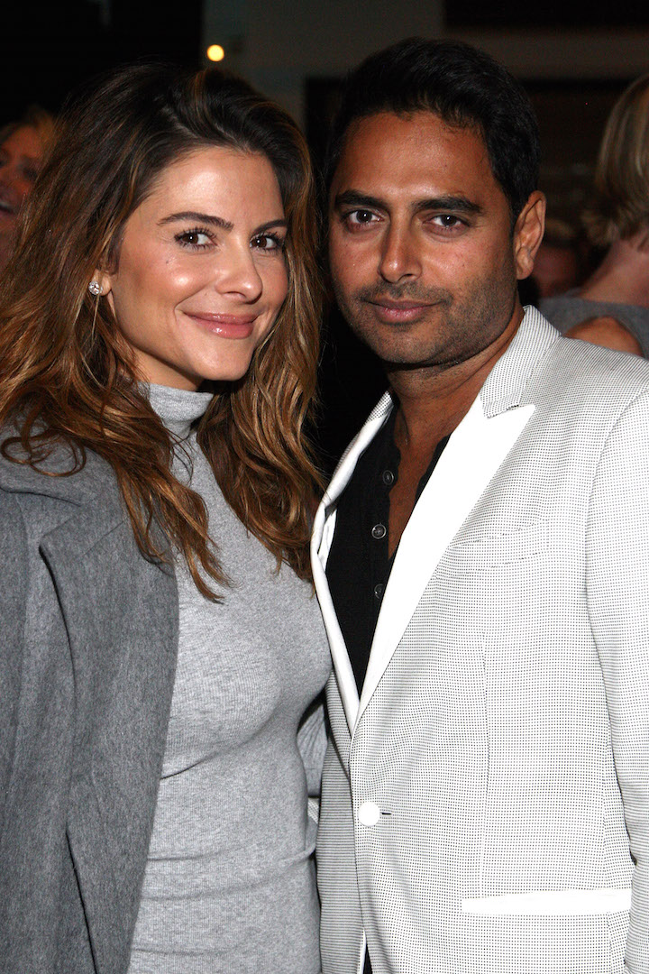 BEVERLY HILLS, CA - NOVEMBER 07:  TV personality Maria Menounos and Rohan Oza attend the Children Matter.NGO first annual gala on November 7, 2015 in Beverly Hills, California.  (Photo by Tommaso Boddi/Getty Images for The Children Matter.NGO)