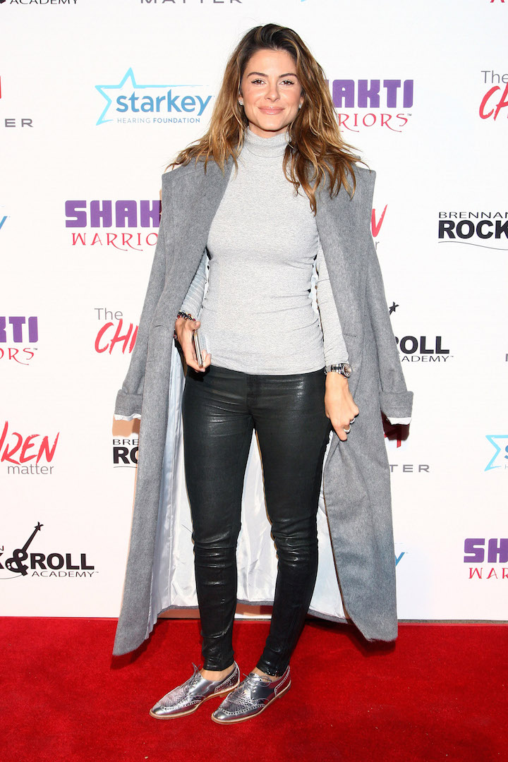 BEVERLY HILLS, CA - NOVEMBER 07:  TV personality Maria Menounos attends the Children Matter.NGO first annual gala on November 7, 2015 in Beverly Hills, California.  (Photo by Tommaso Boddi/Getty Images for The Children Matter.NGO)