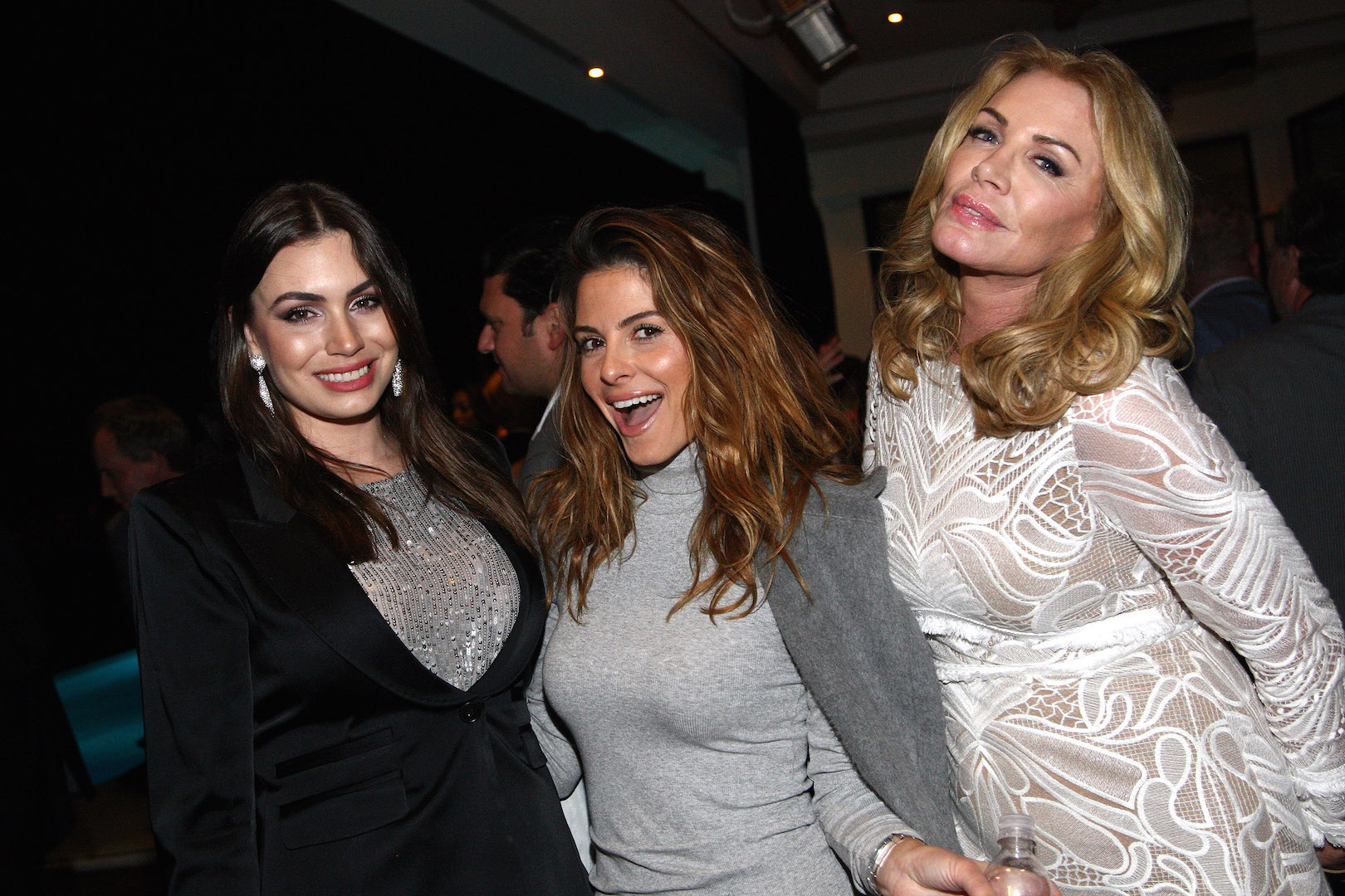 BEVERLY HILLS, CA - NOVEMBER 07:  TV personalities Sophie Simmons, Maria Menounos and Shannon Tweed attend the Children Matter.NGO first annual gala on November 7, 2015 in Beverly Hills, California.  (Photo by Tommaso Boddi/Getty Images for The Children Matter.NGO)