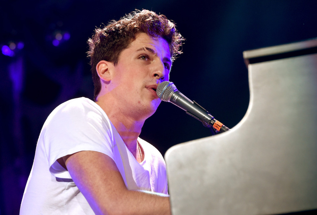DALLAS, TX - DECEMBER 01: Singer Charlie Puth performs onstage during 106.1 KISS FM's Jingle Ball 2015 presented by Capital One at American Airlines Center on December 1, 2015 in Dallas, Texas. (Photo by Kevin Winter/Getty Images for iHeartMedia)