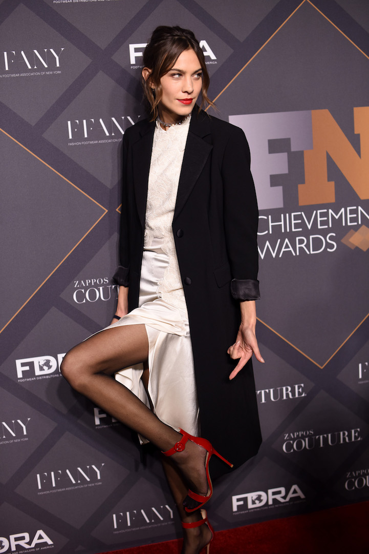 Mandatory Credit: Photo by Stephen Lovekin/Variety/REX Shutterstock (5470209h) Alexa Chung Footwear News Achievement Awards, Arrivals, New York, America - 02 Dec 2015