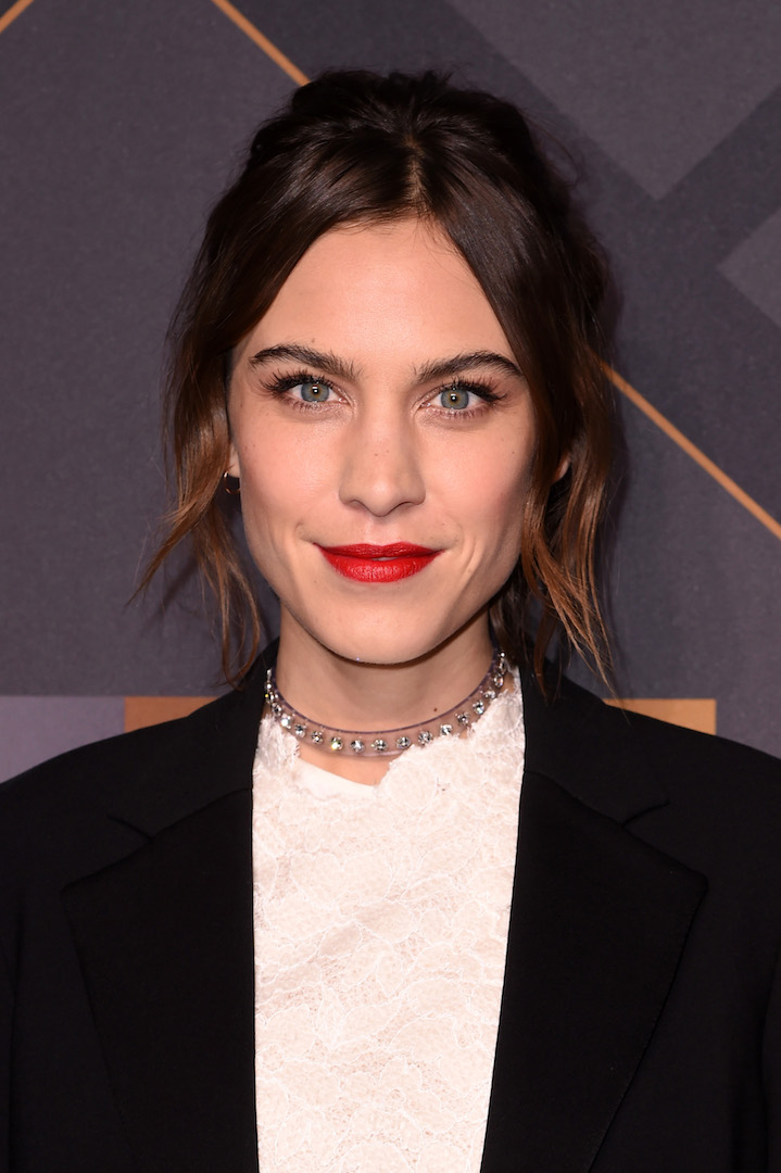 Mandatory Credit: Photo by Stephen Lovekin/Variety/REX Shutterstock (5470209g) Alexa Chung Footwear News Achievement Awards, Arrivals, New York, America - 02 Dec 2015
