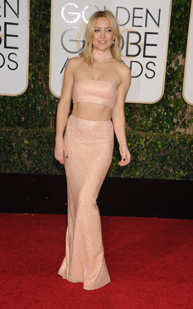 Jan. 10, 2016 - Los Angeles, California, United States - Jan 10th 2016 - Los Angeles California USA - Actress KATE HUDSON at the 73rd Golden Globe Awards - Arrivals held at the Beverly Hills Hotel, Los Angeles CA. (Credit Image: � Paul Fenton via ZUMA Wire)