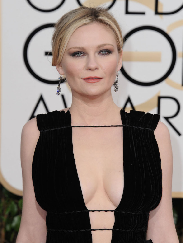 Jan. 10, 2016 - Hollywood, California, U.S. - Kirsten Dunst attending The 73rd Annual Golden Awards - Arrivals held at the Beverly Hilton Hotel in Beverly Hills, California on January 10, 2016 . 2015 (Credit Image: � Dave Longendyke/Globe Photos via ZUMA Wire)