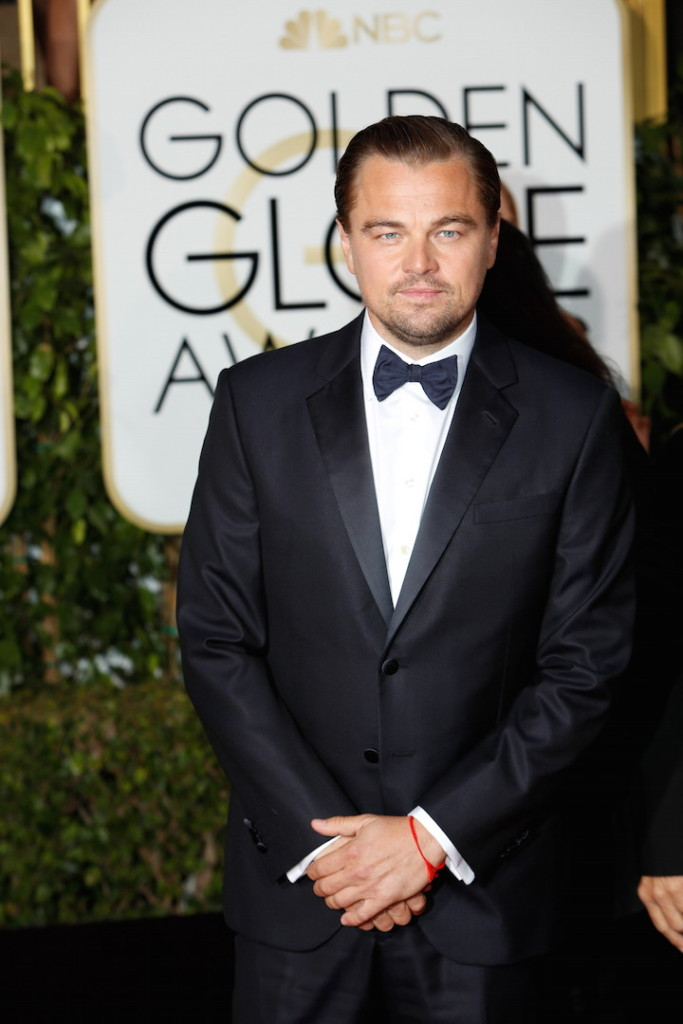 Jan. 11, 2016 - Beverly Hills, California, US - Actor Leonardo DiCaprio arrives for the 73rd Annual Golden Globe Awards at the Beverly Hilton Hotel in Beverly Hills, California, USA, 10 January 2016. Photo: Hubert Boesl/dpa - NO WIRE SERVICE (Credit Image: � Hubert Boesl/DPA via ZUMA Press)