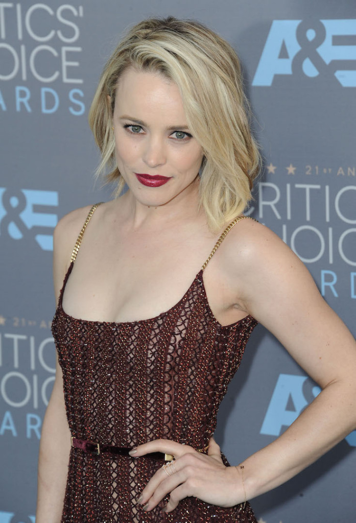 Jan. 17, 2016 - Hollywood, California, U.S. - Rachel McAdams attending The 21st Annual Critics' Choice Awards - Arrivals held at Barker Hanger in Santa Monica, California on January 17, 2016. 2016 (Credit Image: � Dave Longendyke/Globe Photos via ZUMA Wire)