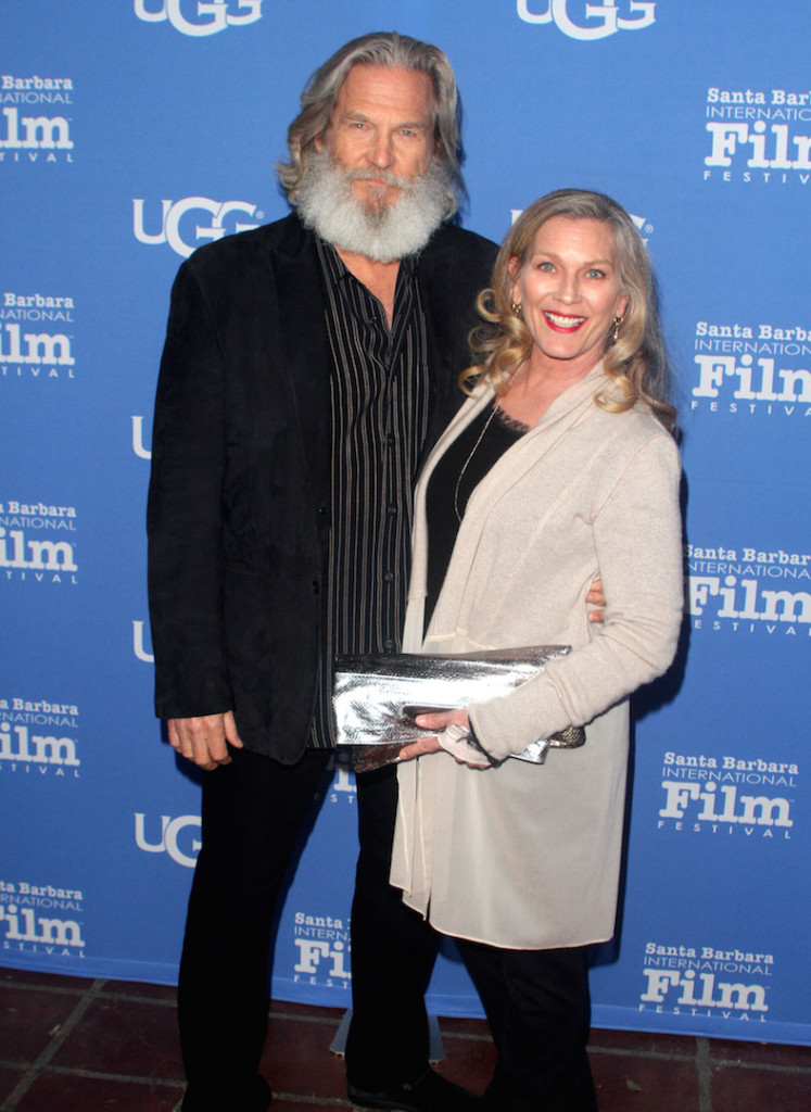 SANTA BARBARA, CA - FEBRUARY 03: Actor Jeff Bridges and Susan Geston attend the opening night presentation of 'The Little Prince' at the Arlington Theater during the 31st Santa Barbara International Film Festival on February 3, 2016 in Santa Barbara California. (Photo by Matthew Simmons/Getty Images for Santa Barbara International Film Festival)