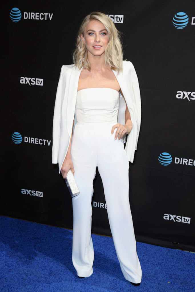 SAN FRANCISCO, CA - FEBRUARY 06: Actress Julianne Hough attends DirecTV Super Saturday Night Co-hosted by Mark Cuban's AXS TV at Pier 70 on February 6, 2016 in San Francisco, California. (Photo by Joe Scarnici/Getty Images for DirecTV)