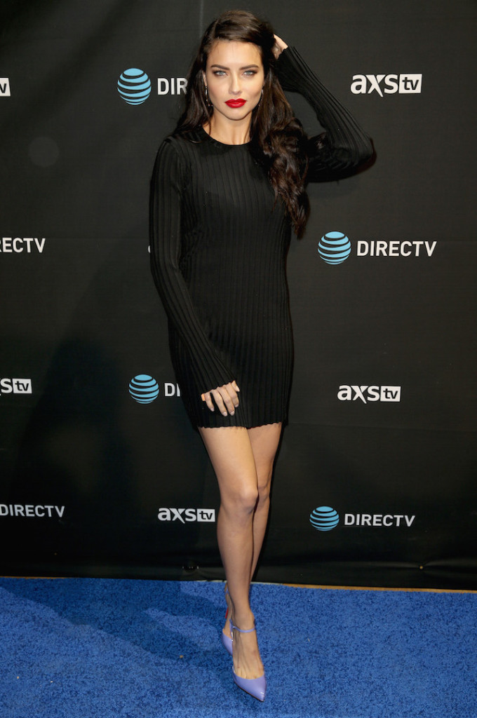 SAN FRANCISCO, CA - FEBRUARY 06: Actress/model Adriana Lima attends DirecTV Super Saturday Night Co-hosted by Mark Cuban's AXS TV at Pier 70 on February 6, 2016 in San Francisco, California. (Photo by Joe Scarnici/Getty Images for DirecTV)