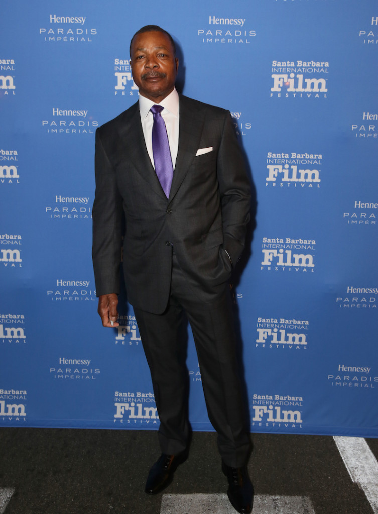 SANTA BARBARA, CA - FEBRUARY 09: Actor Carl Weathers attends the Montecito Award at the Arlington Theater at the 31st Santa Barbara International Film Festival on February 9, 2016 in Santa Barbara, California. (Photo by Rebecca Sapp/Getty Images for Santa Barbara International Film Festival)