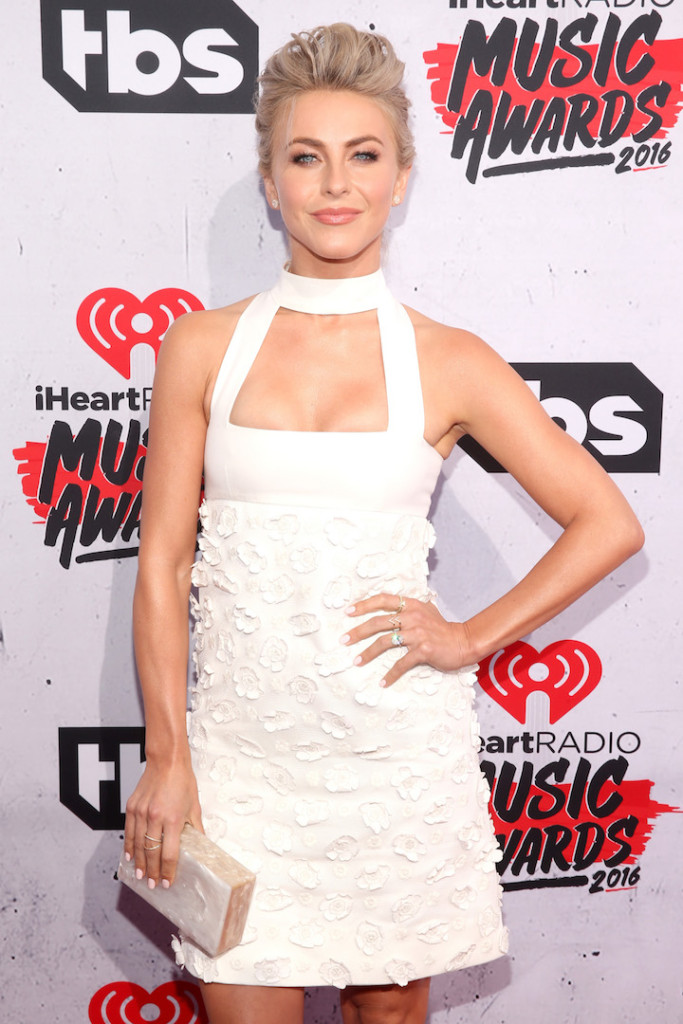 Dancer Julianne Hough attends the iHeartRadio Music Awards at The Forum on April 3, 2016 in Inglewood, California. (Photo by Jesse Grant/Getty Images for iHeartRadio / Turner)