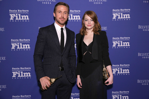 Emma Stone and Ryan Gosling